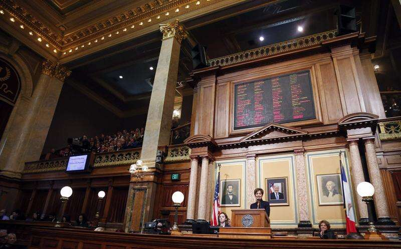 Reynolds seeks more money for Iowa's K-12 education, health care