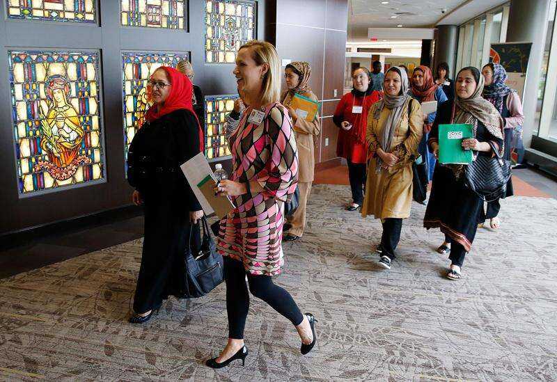 Doctors from Afghanistan visit Mercy Medical Center