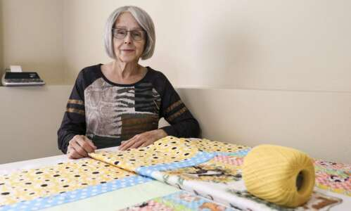 This Cedar Rapids quilter has made more than 300 quilts…