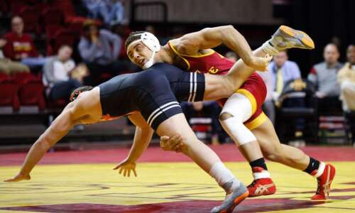 Iowa State wrestling media day notes: Marcus Harrington moving to…