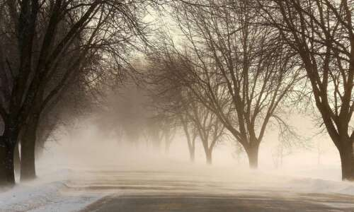 Bitter cold descends on Eastern Iowa to start the week
