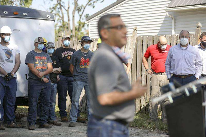 Students begin 'contagious and uplifting' home rehab in Marion