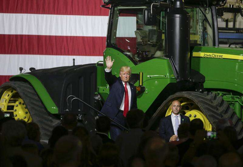 Trump calls for rural internet expansion at Kirkwood Community College