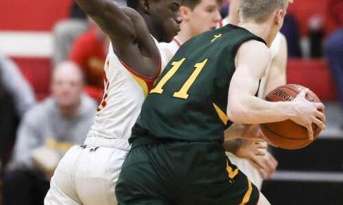 Photos: Marion vs. Dyersville Beckman, Iowa high school boys' basketball
