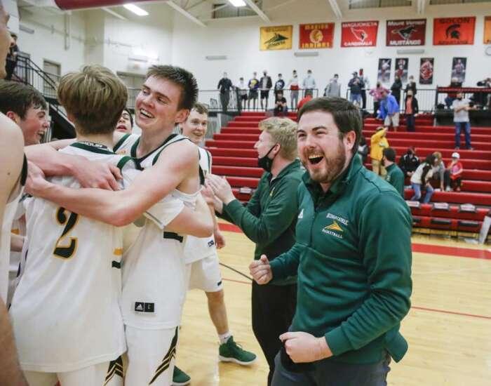 Photos: West Branch vs. Dyersville Beckman, Class 2A Iowa high school boys' basketball substate final