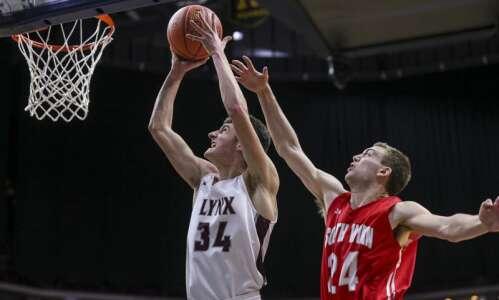 Photos: North Linn vs. South Winneshiek, Iowa Class 1A boys…