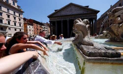 Massive heat wave bears down on Europe