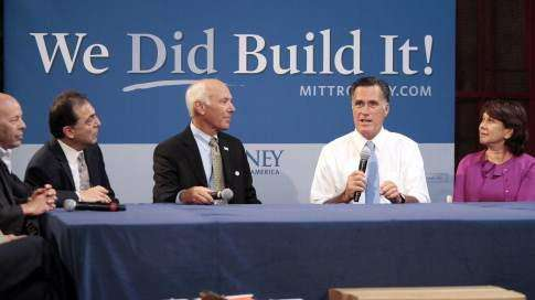 Romney campaign highlighting Obama's 'You didn't build that' comment