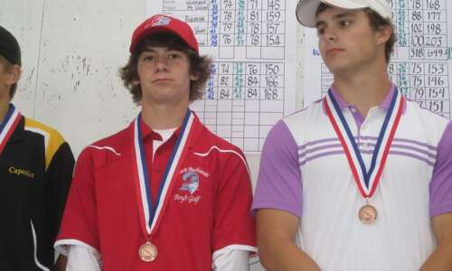 East Buchanan's Chris Cooksley was hooked on golf from day…