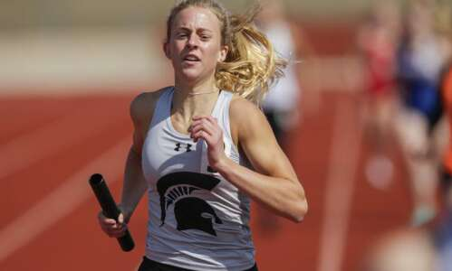 Solon girls, Prairie boys atop first Gazette area track and…