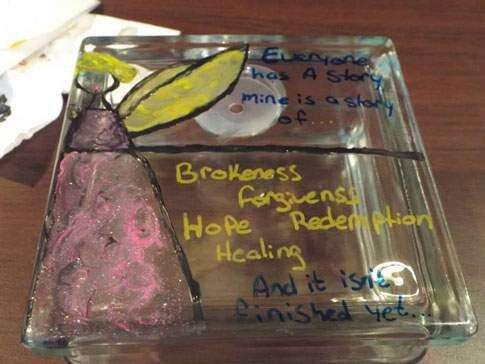 Art display in Cedar Rapids highlights sexual assault in the military