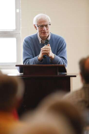 Although politics has 'hardened,' Jim Leach sees great things happening