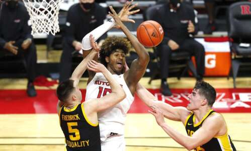 Rutgers vs. Iowa men's basketball glance: Time, TV, live stream,…