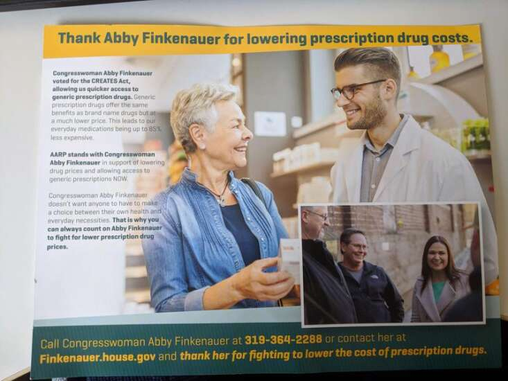 Fact Checker: PAC praises Rep. Abby Finkenauer for stance on drug prices
