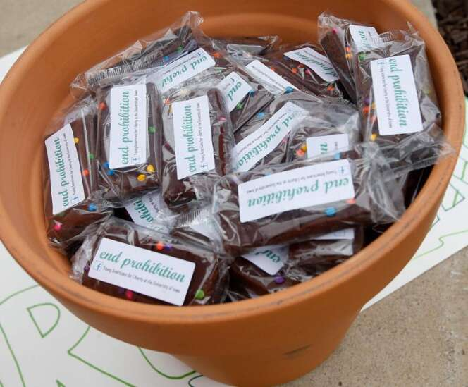 University of Iowa group pushes 'pot brownies' on 4/20