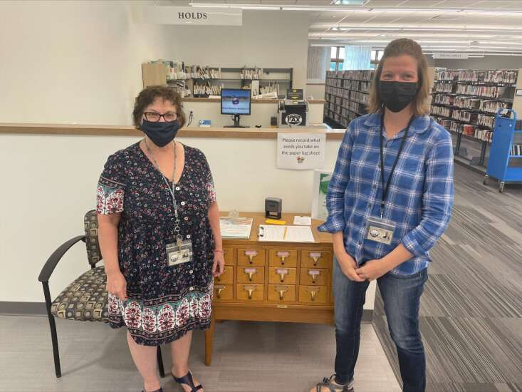 Hiawatha library focusing on sustainability