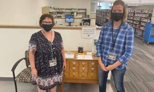 The Hiawatha Public library focuses on sustainability
