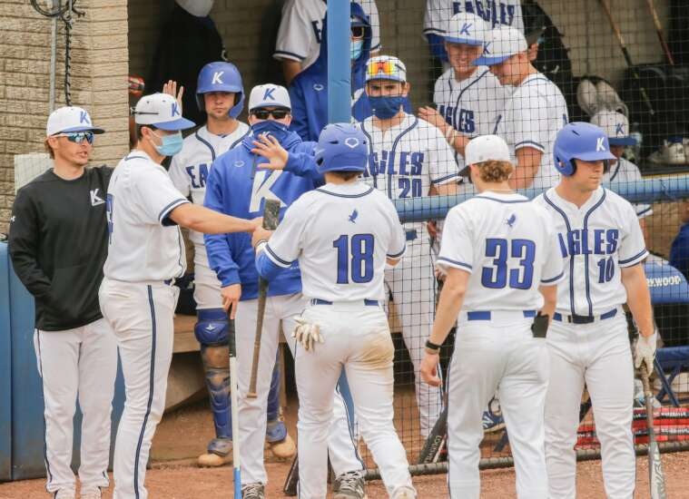 Josh Fitzgerald does it all as a leader for Kirkwood baseball