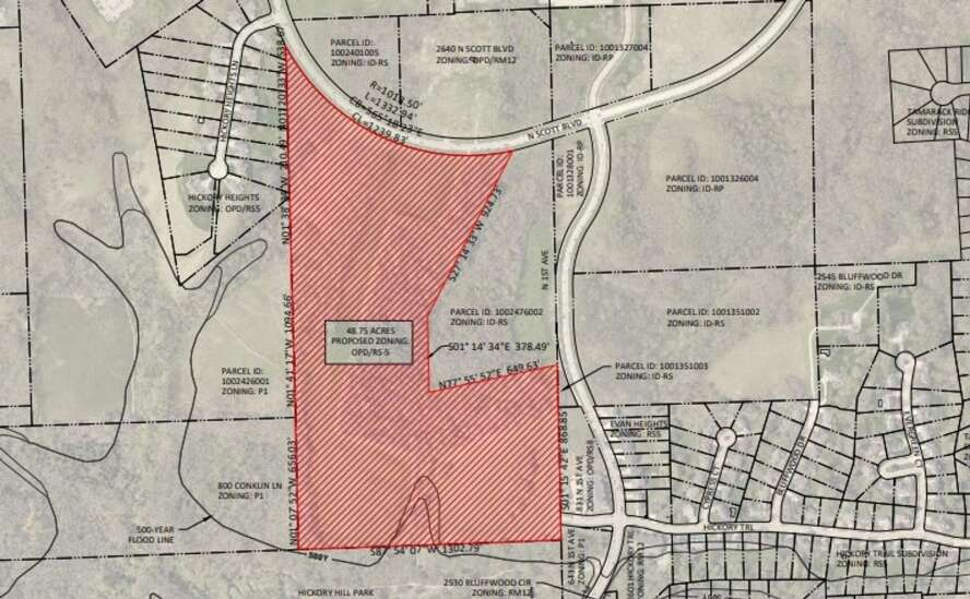 Iowa City Council postpones vote on development near Hickory Hill Park