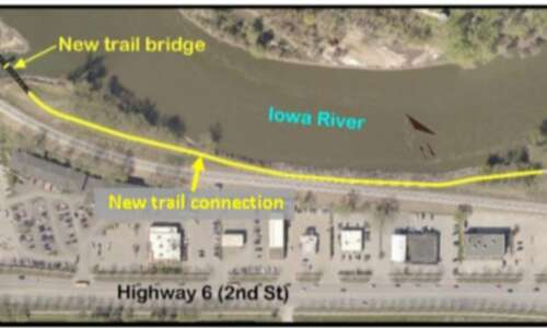 Iowa River Trail spanning Clear Creek is now open