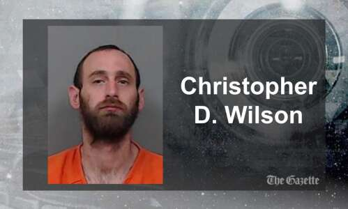 C.R. man faces charges after high-speed chase into Johnson County
