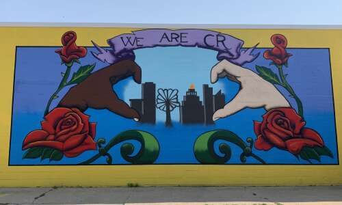 New 'We Are C.R.' mural downtown celebrates city's diversity