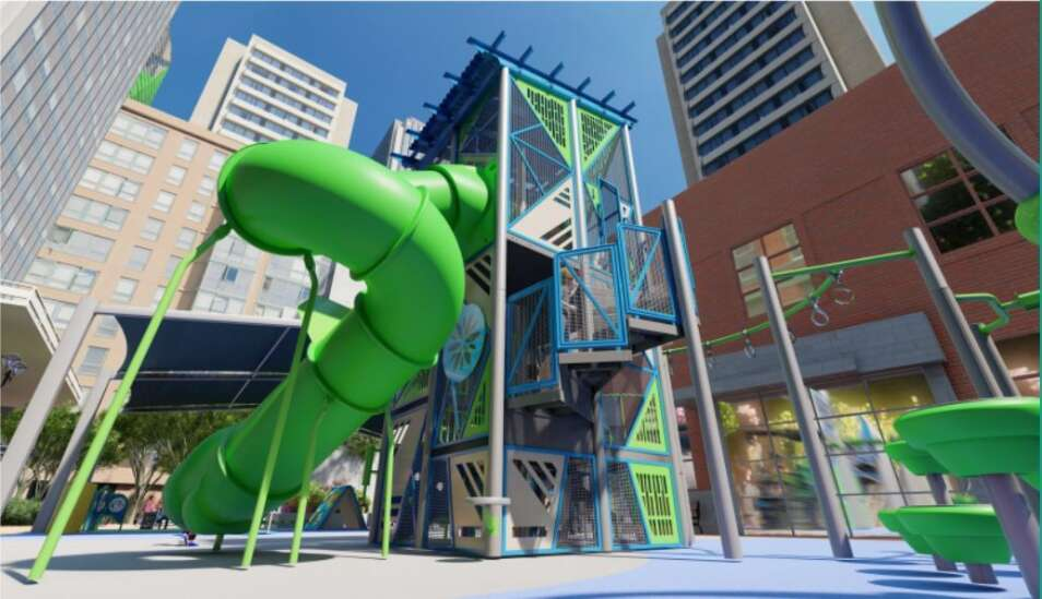 Iowa City finalizes Ped Mall playground design