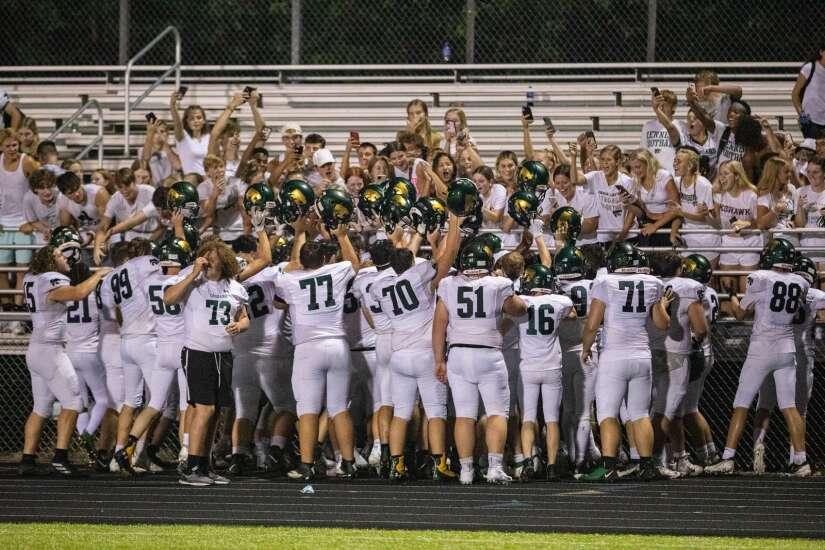 Photos: Cedar Rapids Kennedy vs. Iowa City West, Iowa high school football Week 1