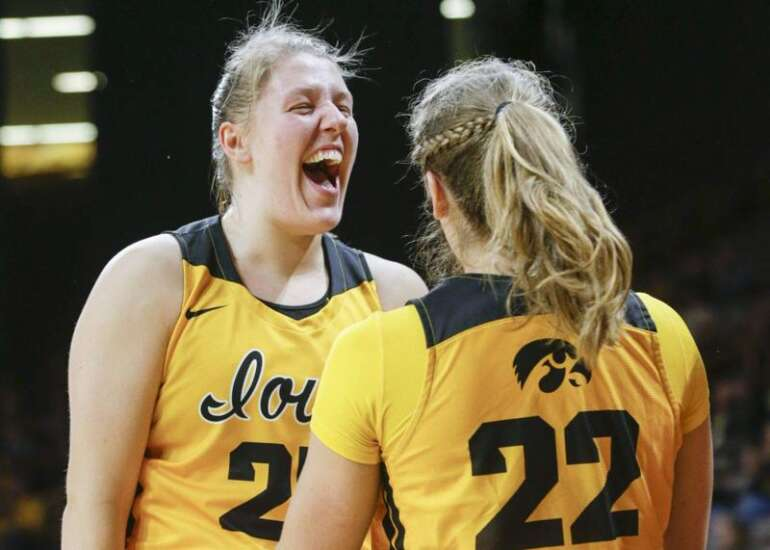 Monika Czinano an offensive force in Iowa women's basketball exhibition victory