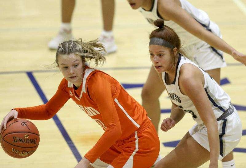 Photos: Solon at Cedar Rapids Xavier, Iowa high school girls' basketball