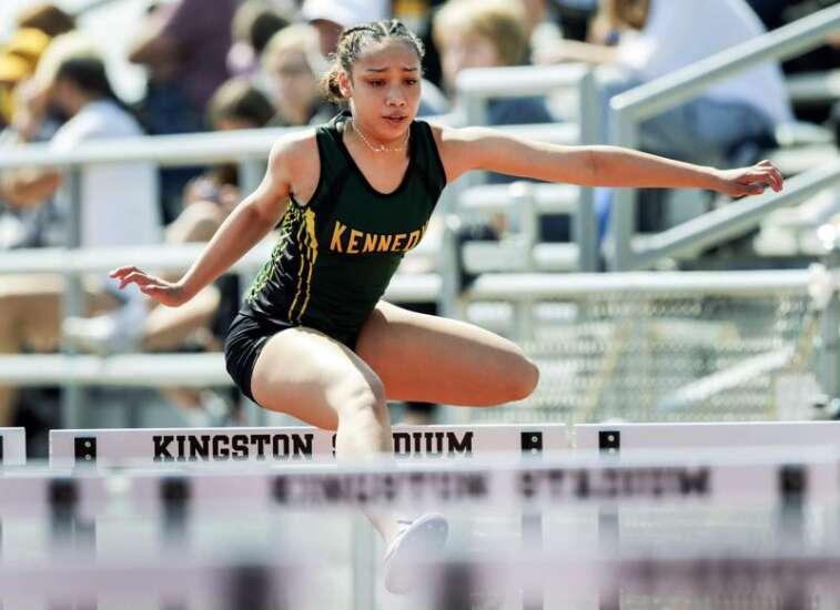 Photos: 2021 J-Hawk Relays in Cedar Rapids, Iowa high school girls' track and field
