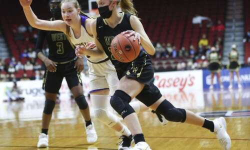 Photos: Iowa City West vs. Johnston, Iowa Class 5A girls'…