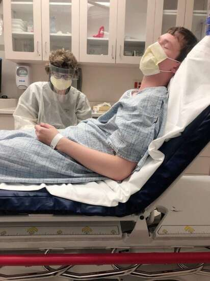 Tiffin teen recovers from 'unbearable' coronavirus