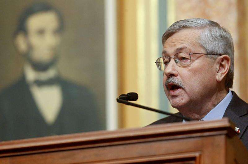 Branstad revises Iowa spending increases downward