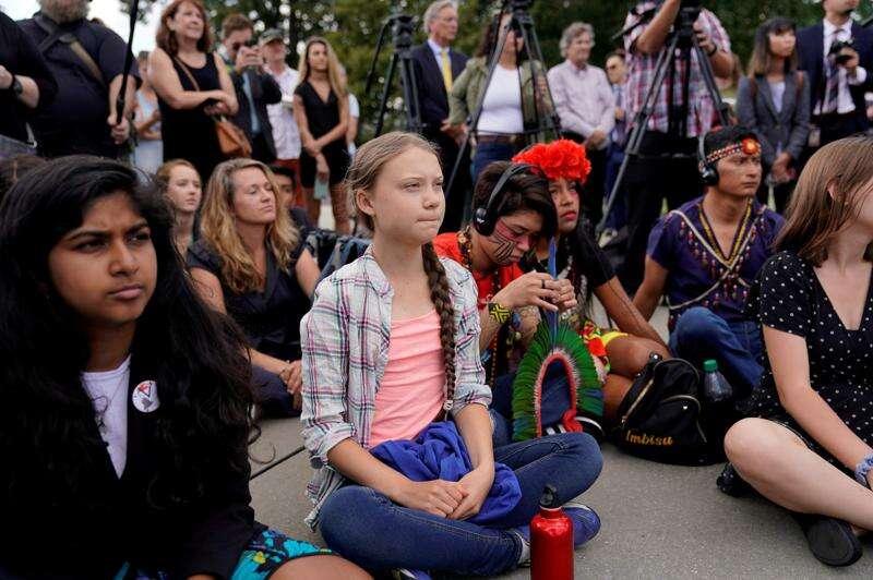 Teen climate activist Greta Thunberg joining Iowa City strike Friday