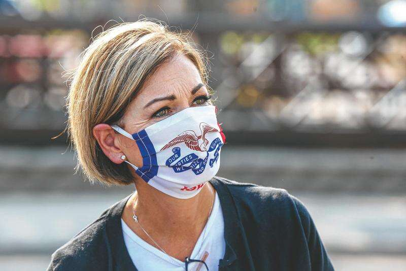 Federal government may force Gov. Reynolds to change course on masks