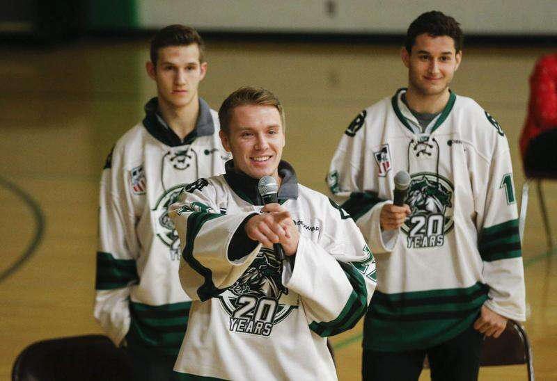 Liam Walsh of Cedar Rapids RoughRiders selected for USHL's Curt Hammer Award