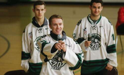 Liam Walsh of Cedar Rapids RoughRiders selected for USHL's Curt…