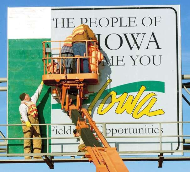 Next Weed Store 679 Miles: Ideas for new 'Welcome to Iowa' signs
