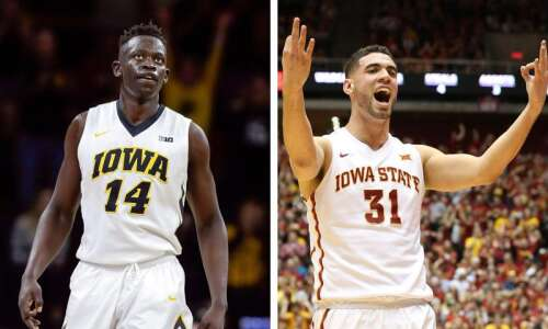 Peter Jok, Georges Niang have friendly bet on Iowa-Iowa State…