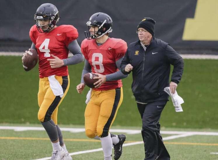 Four Downs: Iowa's 2017 Quarterbacks