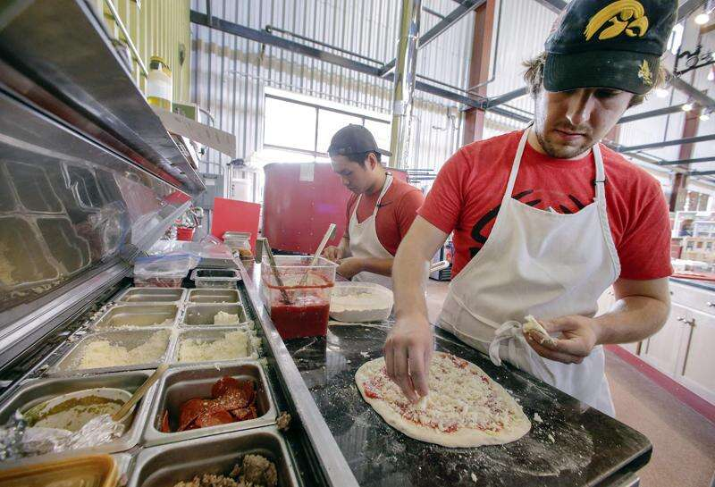 Aroma Artisan Pizza opens in NewBo City Market