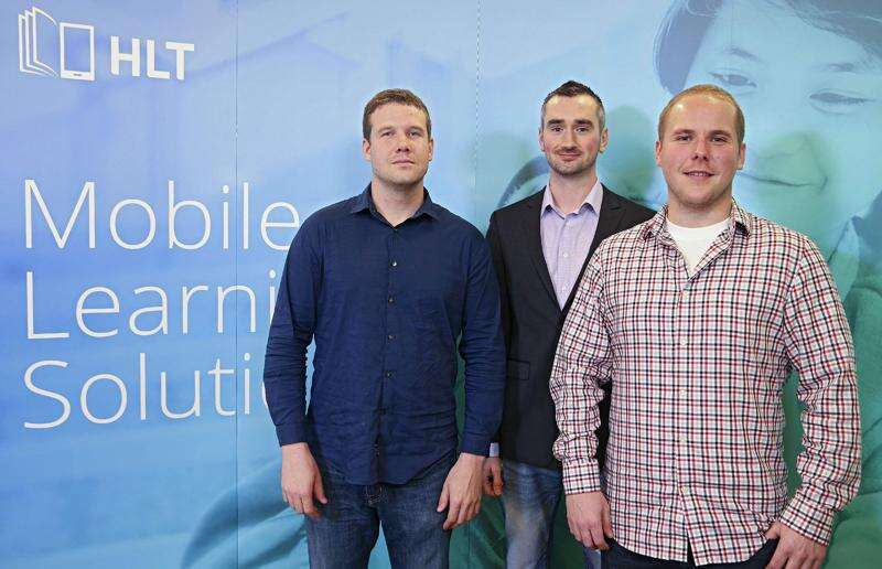 Garage Band: Flash cards for the future, Higher Learning Technologies apps used worldwide