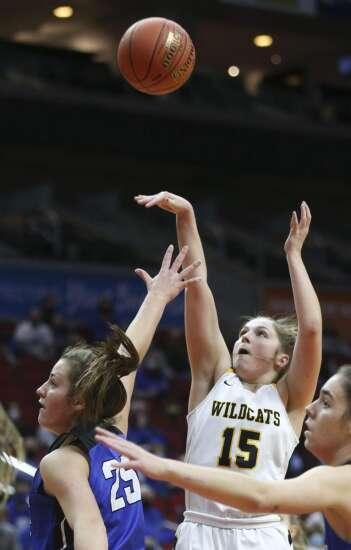 Photos: Maquoketa Valley vs. Dike-New Hartford, Iowa Class 2A girls' state basketball championship