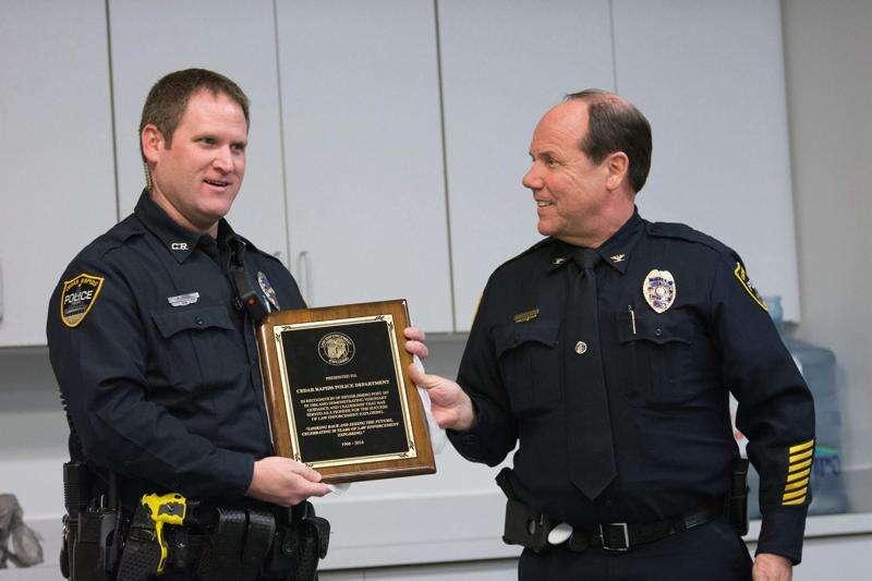 Police Explorer Post in Cedar Rapids marks 50 years