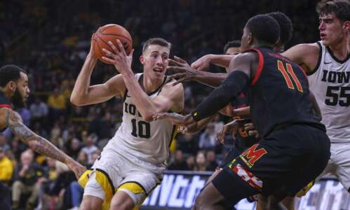 It's not last year's Maryland, and Iowa must take advantage