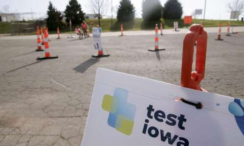 Why Iowans still can't get quick COVID-19 tests