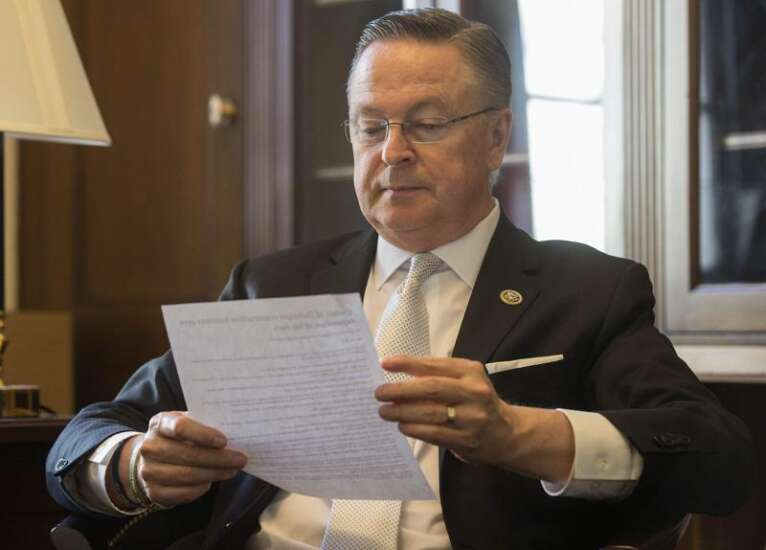 Coalition asks U.S. Rep. Rod Blum of Iowa to stop voting for health care repeal