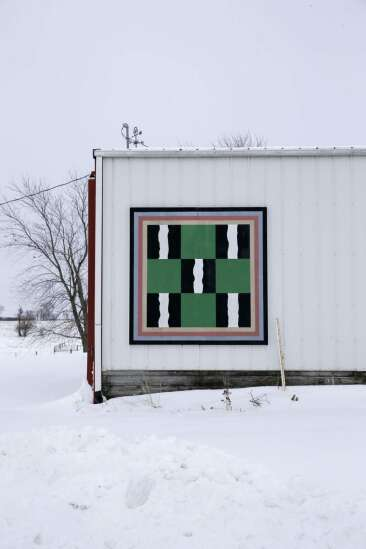 Barn quilts enhance the beauty of the Washington County countryside