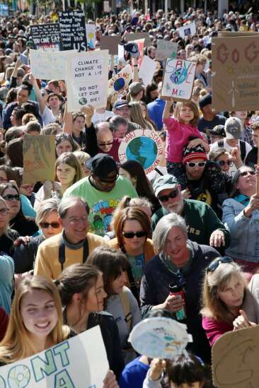 Report: Iowa City schools exceeding climate change goals